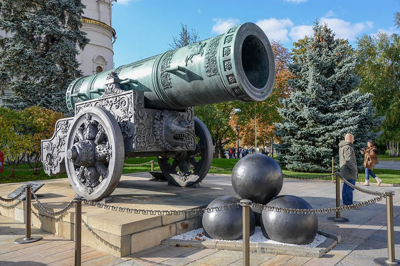 El cañón y la campana, los zares del Kremlin | Rusia