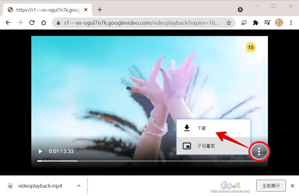 儲存 Youtube、Facebook 影片和轉成 MP3 音訊/免安裝
