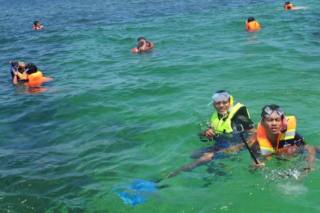Paket tour Pulau Abang Batam