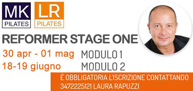 Corso Internazionale di Reformer con Michael King,    30 aprile - 01 maggio e 18-19 giugno 2016   a Moniga del Garda