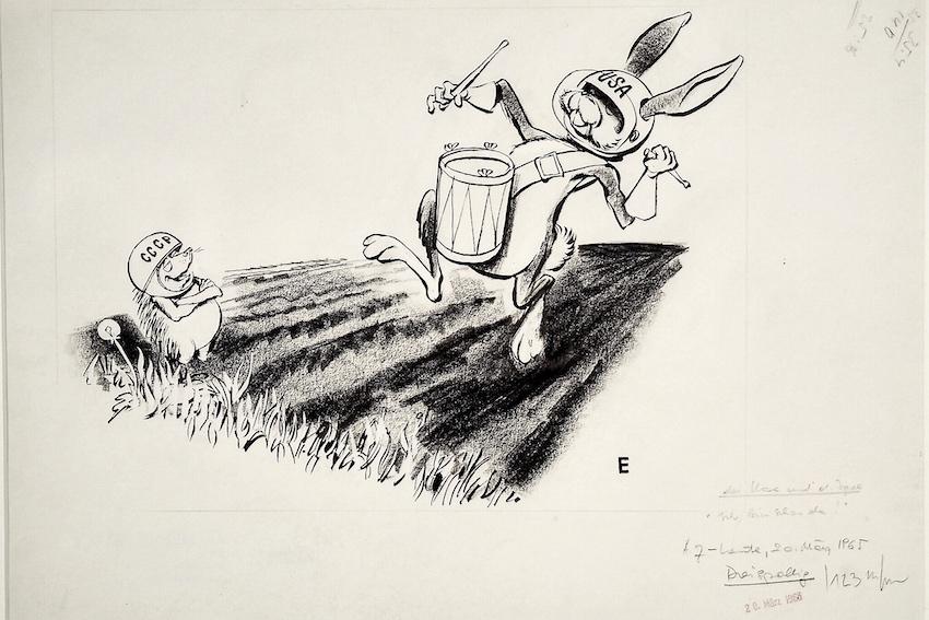 """Erich Sokol: Der Hase un der Igel oder """"Ich bin schon da"""""""" (1965)"""