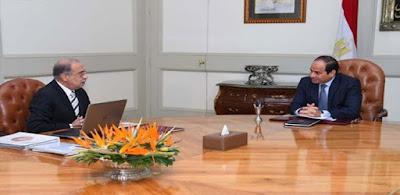 تفاصيل اجتماع الرئيس بكبار مسئولى الدولة