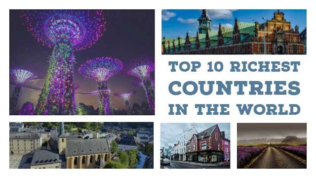 Top 10 richest countries of the world