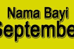 Nama Bayi Laki-Laki dan Perempuan Bulan September