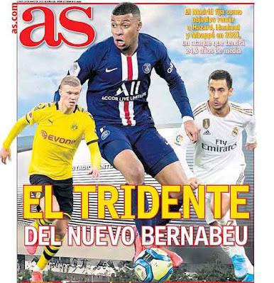 "Tam tấu 500 triệu euro của Real: ""Bố già"" chốt Haaland - Hazard - Mbappe 2"