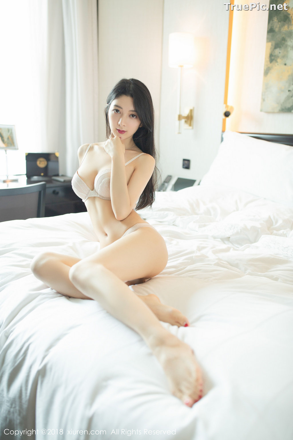 Image XIUREN No.1141 - Chinese Model - Xiao Reba (Angela小热巴) - Sexy Dress Tonight - TruePic.net - Picture-43