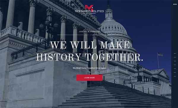 McKinney,s Politics Best Political WordPress Themes 2020