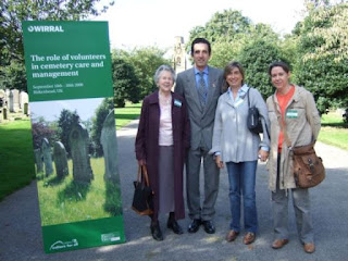 John Moffat with Maria Luisa Yzaguirre, Jean Pateman and Guenola Groud