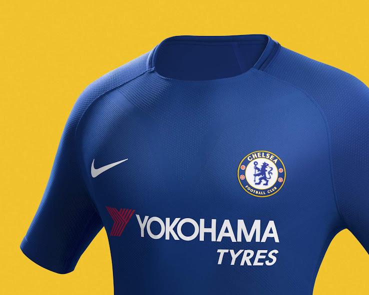 size 40 76bba 9630b Nike Chelsea 17-18 Home Kit Released - Footy Headlines