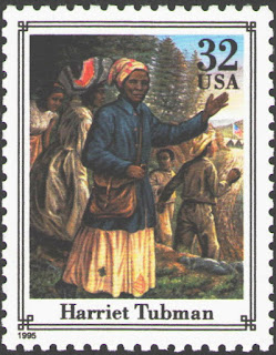 US. Harriet Tubman Abolitionist. Civil War. 1995