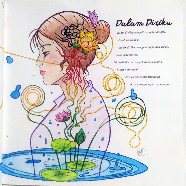 """Ilustrasi Puisi """"Dalam Diriku"""" Part 1"""