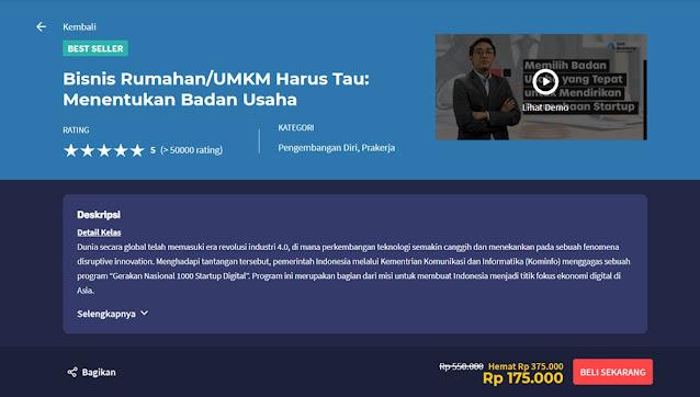 kelas online umkm skill academy