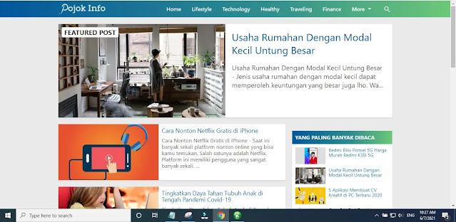 New Kompi Flexible Blogger Template Main Features