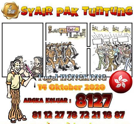 Prediksi Togel Pak Tuntung Hongkong Rabu 14 Oktober 2020