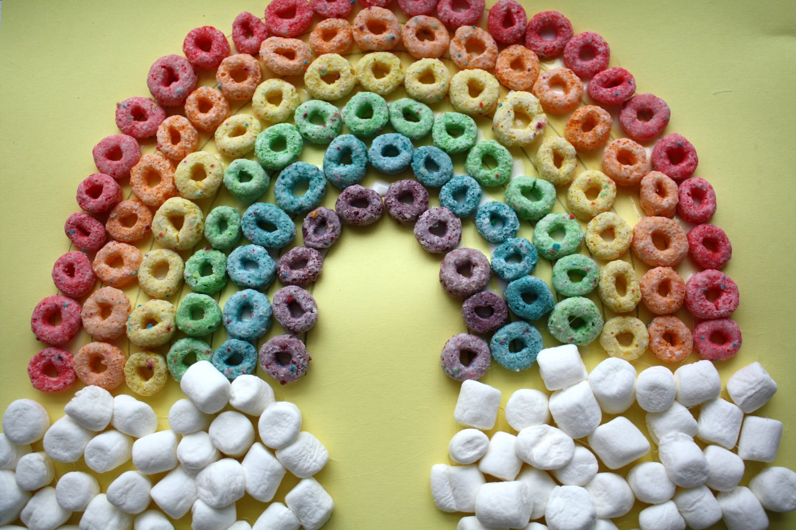 Sweet And Simple Things Fruit Loop Rainbow