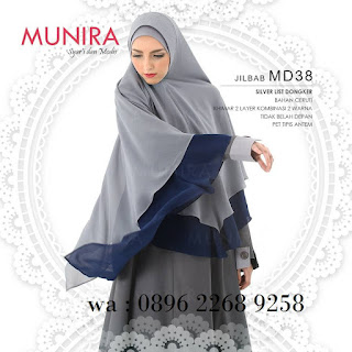 Jilbab Munira MD 45 Koleksi jilbab syar'i terbaru dewasa