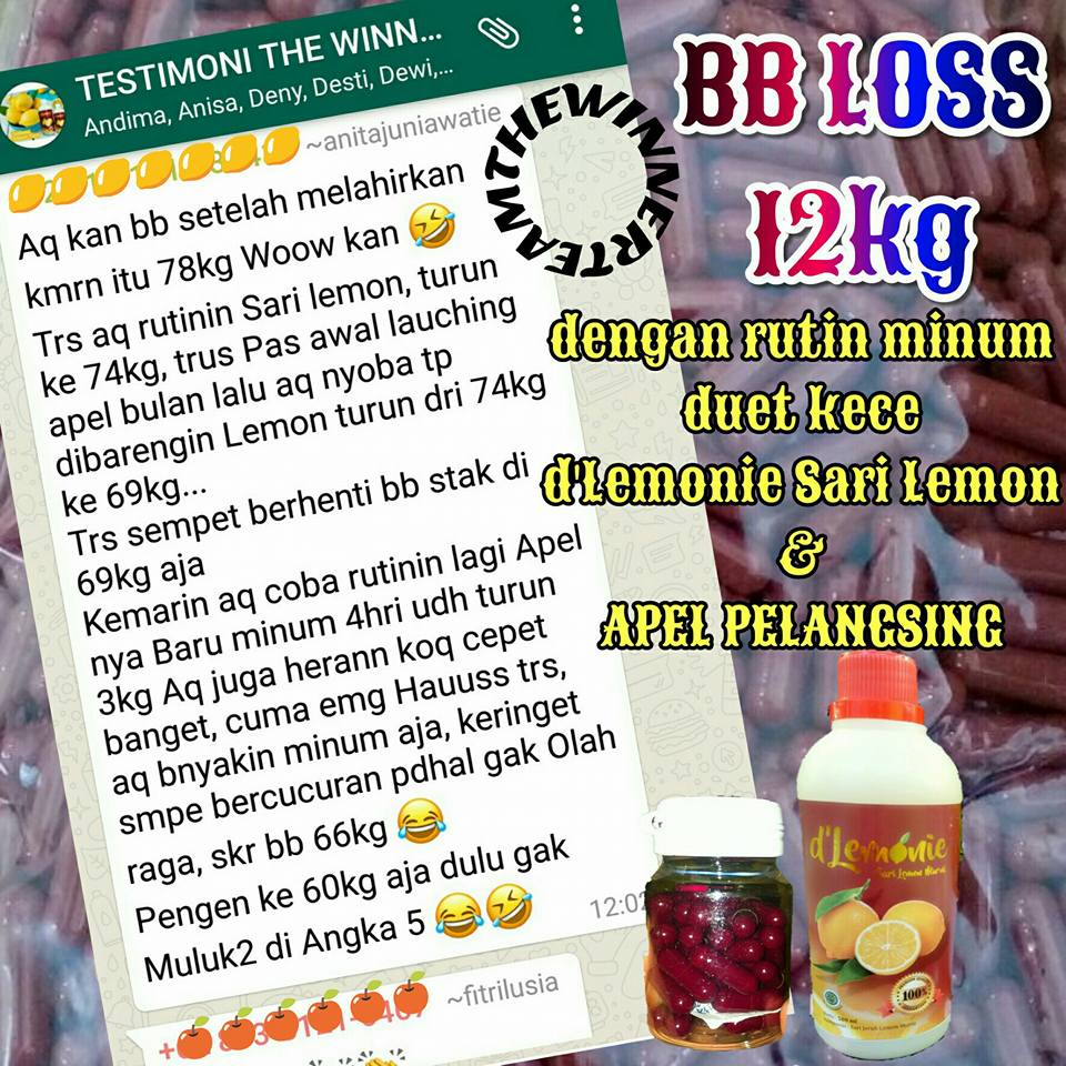 WA 0813 2112 2638 Distributor Dlemonie minuman lemon untuk diet di Kota Bandung Cipadung