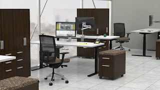 Mayline Sit To Stand Workstations at OfficeFurnitureDeals.com