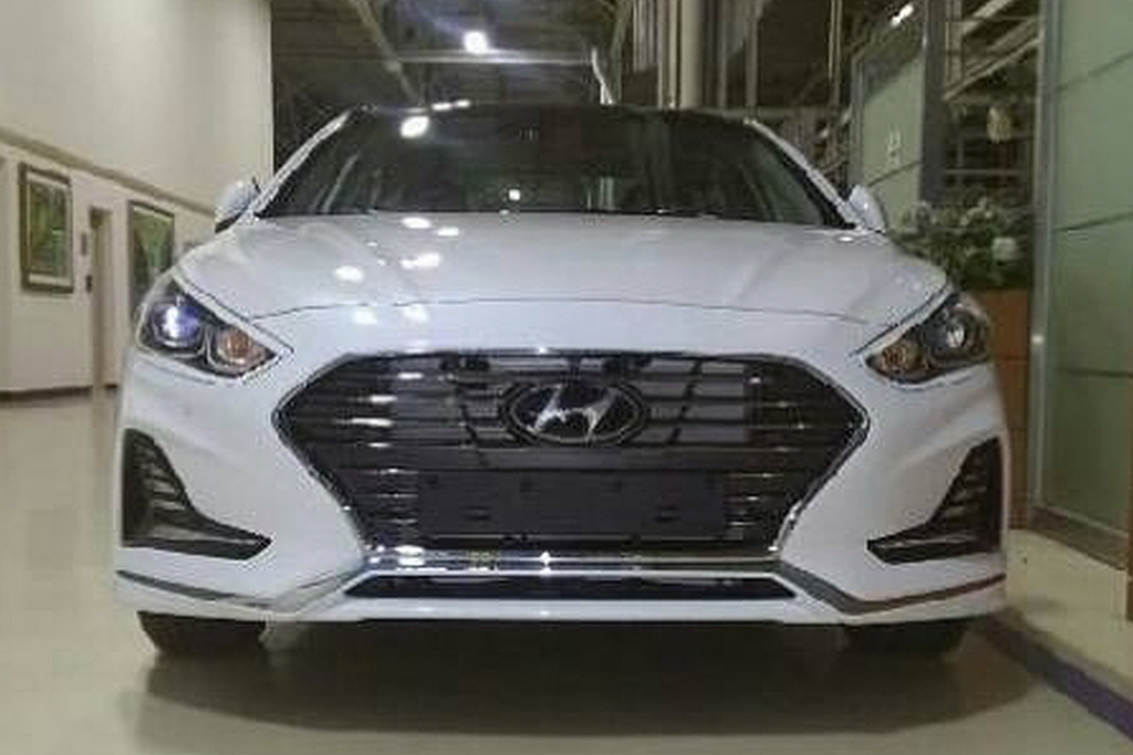 2018 Hyundai Sonata Leaked Again – Looks Like The Real ...