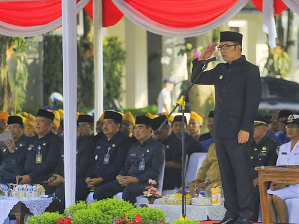 Upacara Harkitnas Balai Kota Bandung 22 Mei 2017