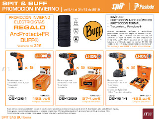 "Spit Paslode promoción invierno ""Spit & Buff""."