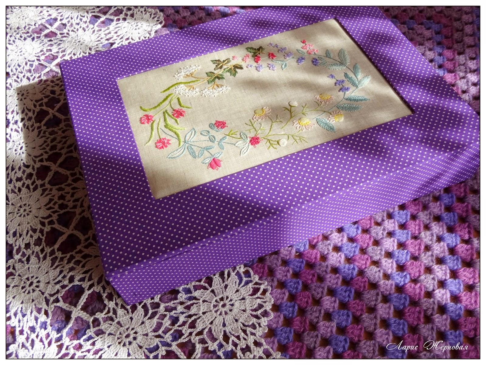 блог Лаконичная вышивка Herb Embroidery on Linen, Sadako Totsuka