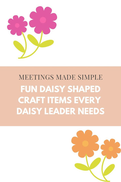 Fun Daisy Shapes for Girl Scout Crafts