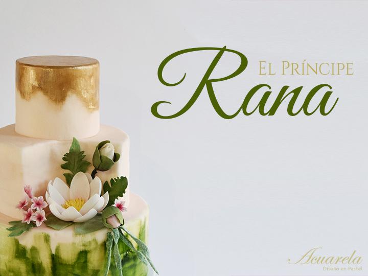 Un cuento hecho pastel: El príncipe rana.