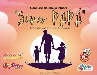 "Convocatoria del concurso de dibujo infantil ""Súper papá"""