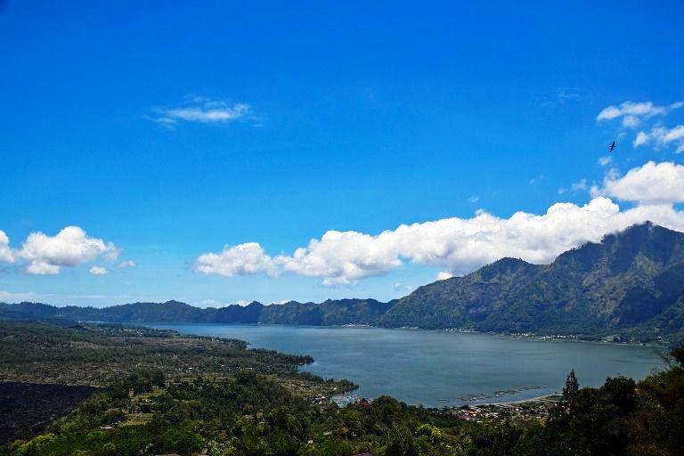 Gunung Berapi dan Danau Batur Kintamani - Bali, Penelokan, Batur, Kintamani, Gunung Berapi, Danau, Objek Wisata