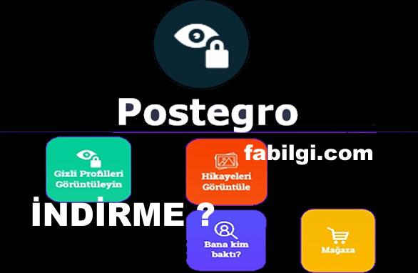 Postegro Apk Nasıl İndirilir? Gizli Hesaplara Bakma Uygulaması 2020