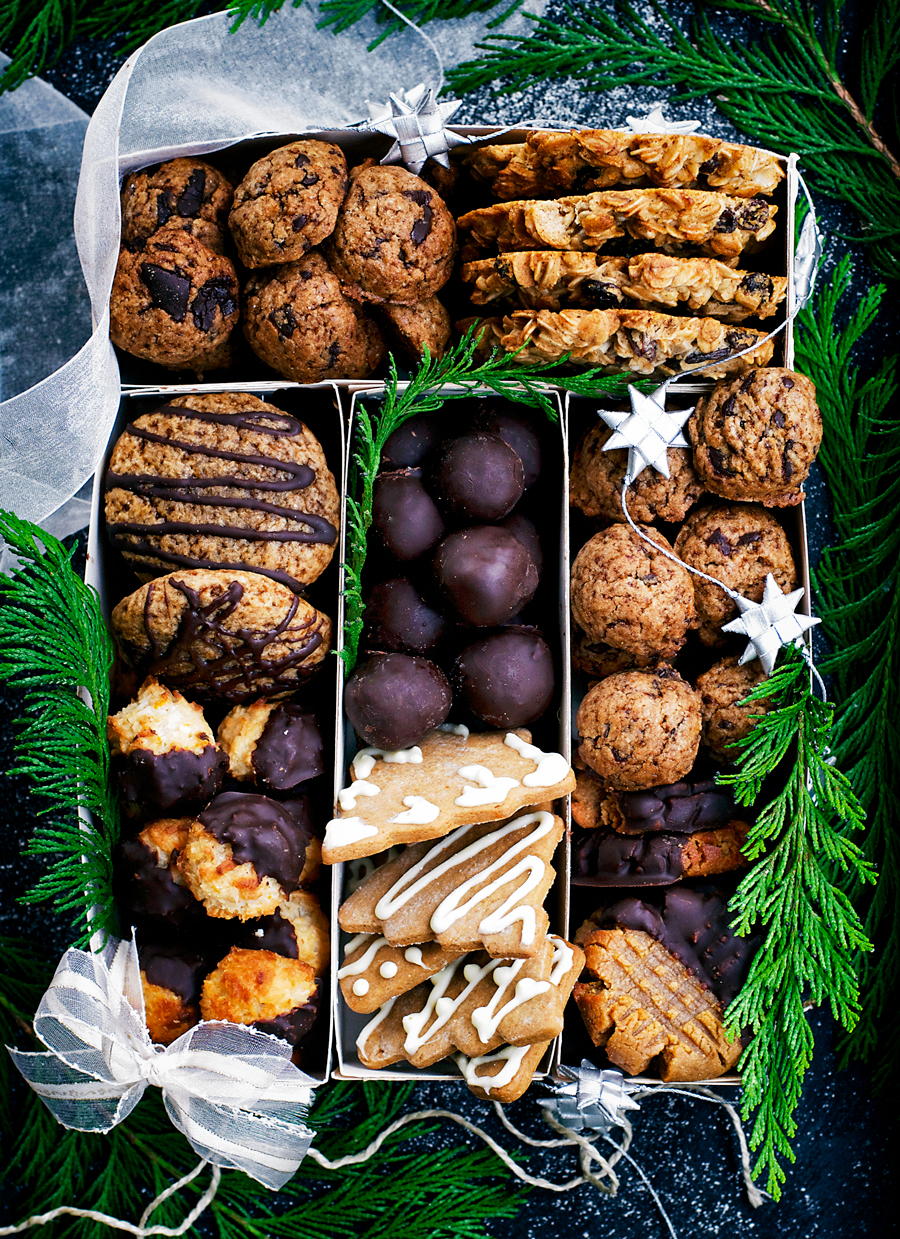 Christmas Cookies Box.Healthier Holiday Cookie Box Occasionally Eggs