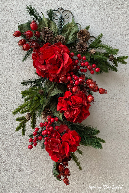 Nearly Natural Christmas Faux Floral Arrangements
