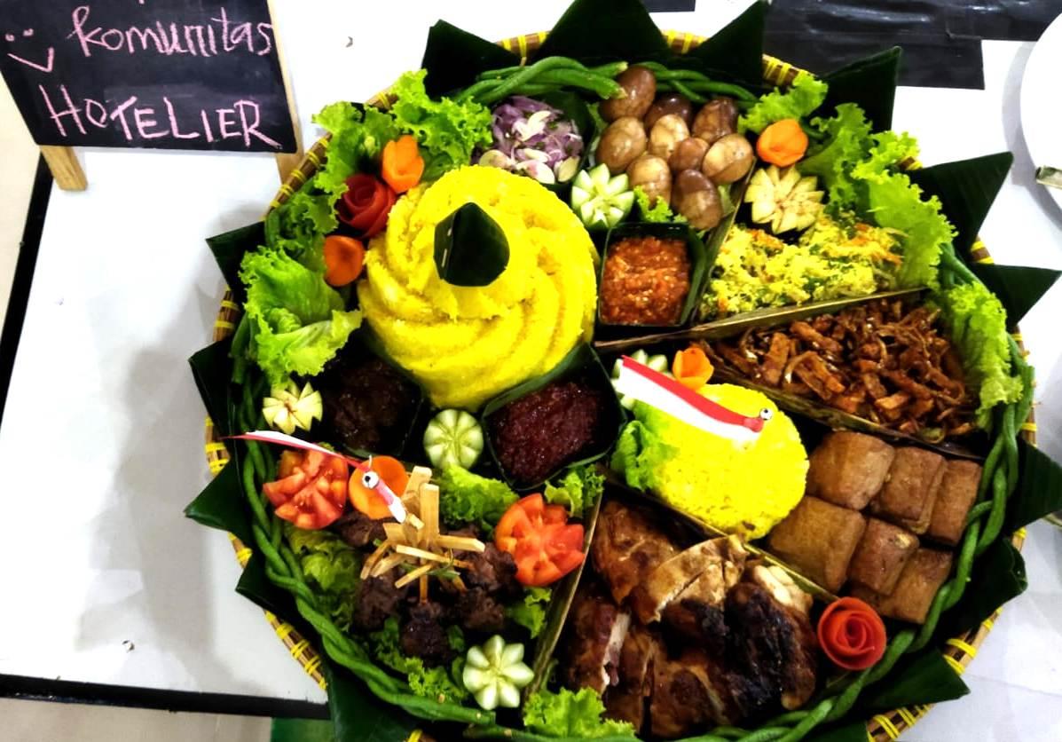 Chef Harris Resort Barelang Raih Juara II, Kompetisi Tumpeng Merah Putih