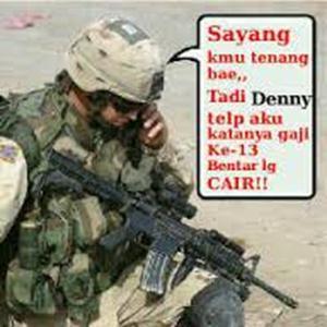 Gambar DP BBM Kata Kata Romantis Tentara