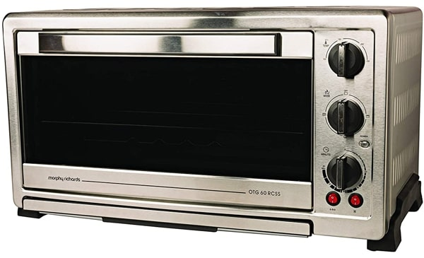 Morphy Richards OTG, 60 Litres, 2000 Watts - Best for large family. But, the design is too old.