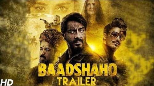Baadshaho 2017 Hindi Movie Official Trailer Download
