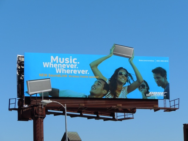 Bose soundlink billboard
