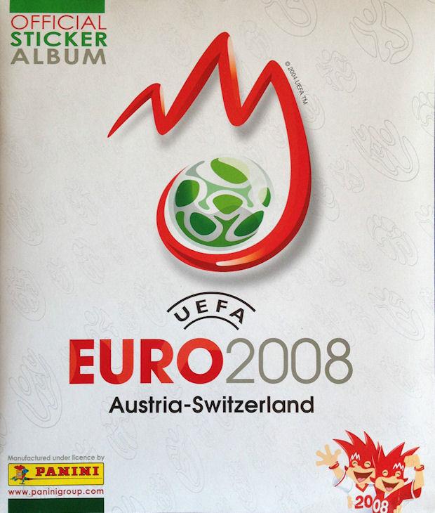 Panini 390 Andreas Isaksson Schweden UEFA Euro 2008 Austria Switzerland