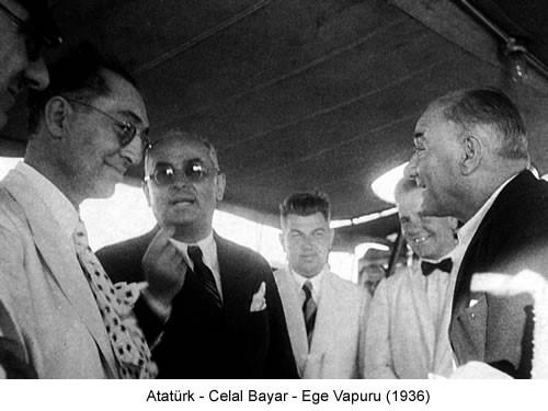 Atatürk Celal Bayar 1936 Fotoğraf