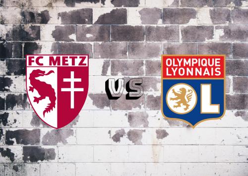 Metz vs Olympique Lyonnais  Resumen