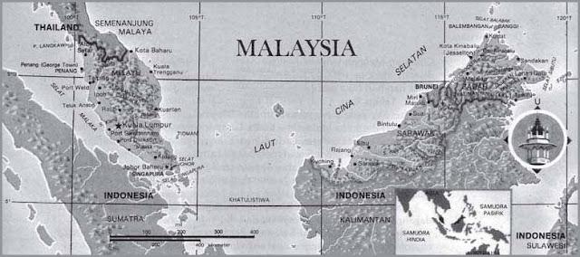 Letak Geografis dan Astronomis Malaysia, Iklim, Bentang Alam, Keadaan Ekonomi Soasial Budaya serta Batas Wilayah Negara Malaysia