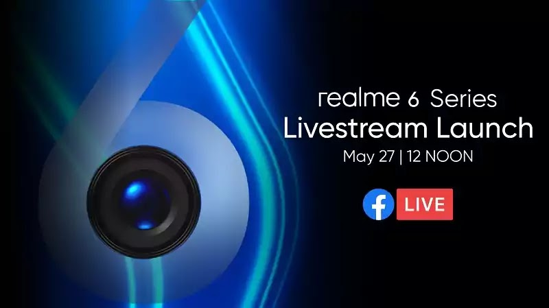 Realme 6 May 27 Launch