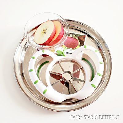 Apple Slice Cutting Activity