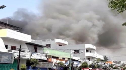 Kebakaran Toko Mebel Tunggal Jaya Rembang