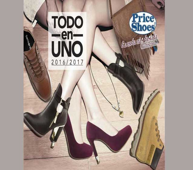 Catalogo todo en uno  Price shoes 2017