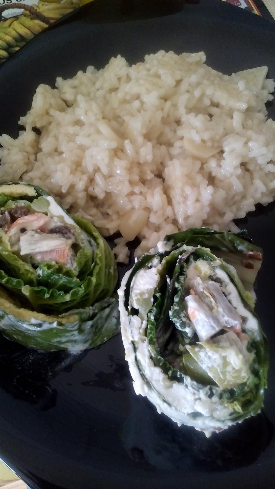 Idea para una comida r pida con ingredientes de calidad for Arroz blanco cocina al natural