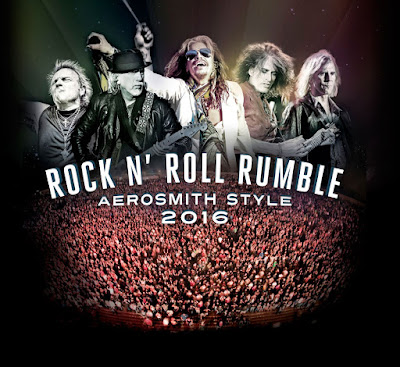 Noticias que suenan Rock and roll Tour Rock N' Roll Rumble Aerosmith Style
