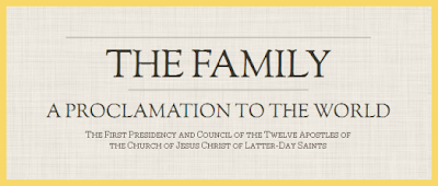 The Family - Proclamation