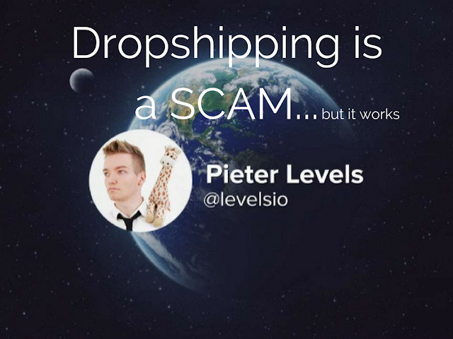 pieter levels dropshipping